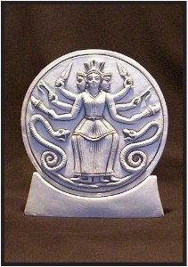 hecate-roman-statue
