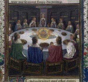 LE RONDE dans A ECOUTER les-chevaliers-de-la-table-ronde-300x281