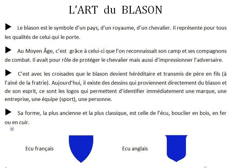 L' ART DU BLASON   dans ART ET CULTURE Blason1