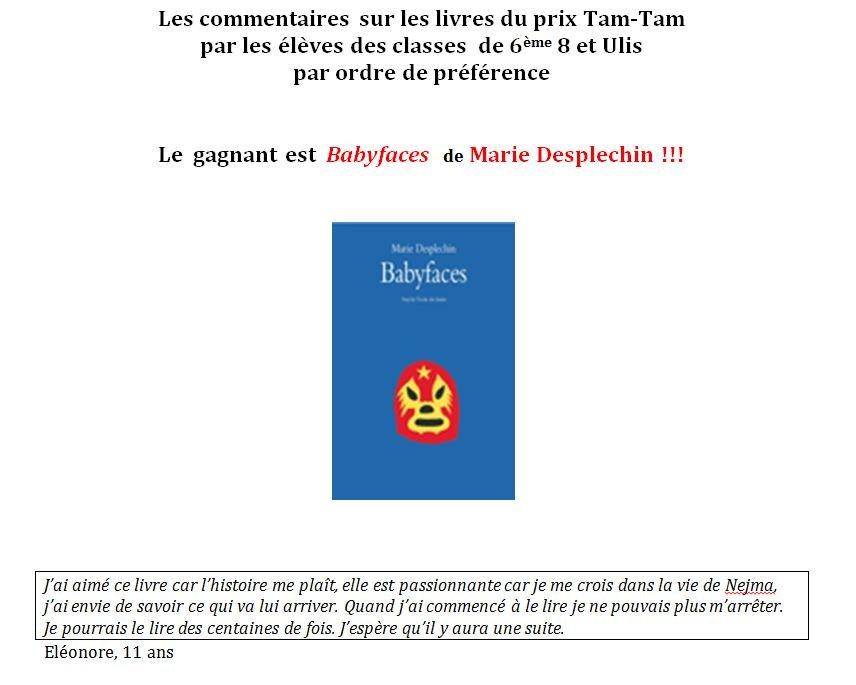 TAM-TAM-2012-COM1 dans RECITS