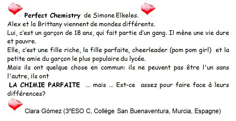 perfect-chemistry dans RECITS