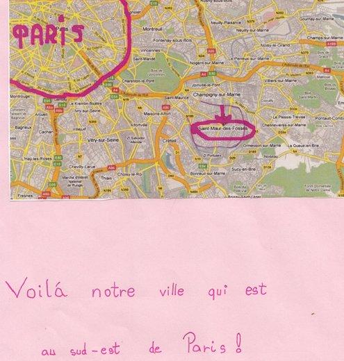 CLA  plan saint Maur