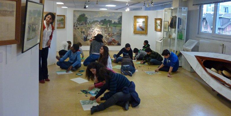 hist de l'art au musee