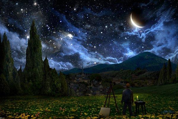 lune magie de la nature
