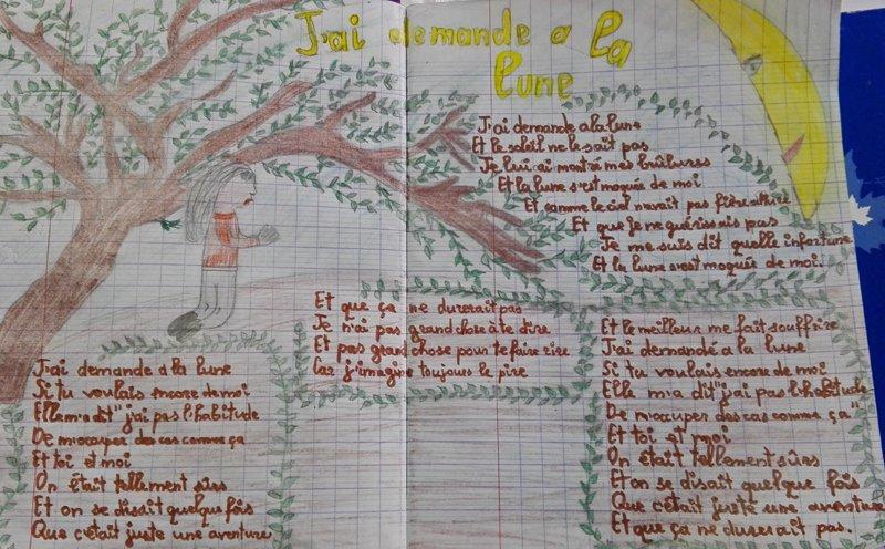 cahier 4 la lune