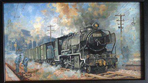 locomotive peinture
