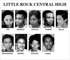 les neuf de Little Rock