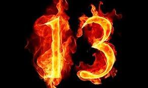 chiffre 13 vrai